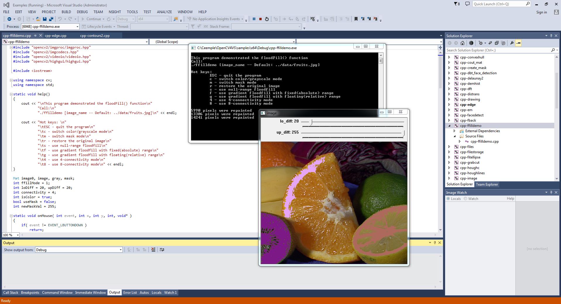 OpenCV example